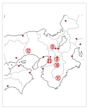 白地図イメージ